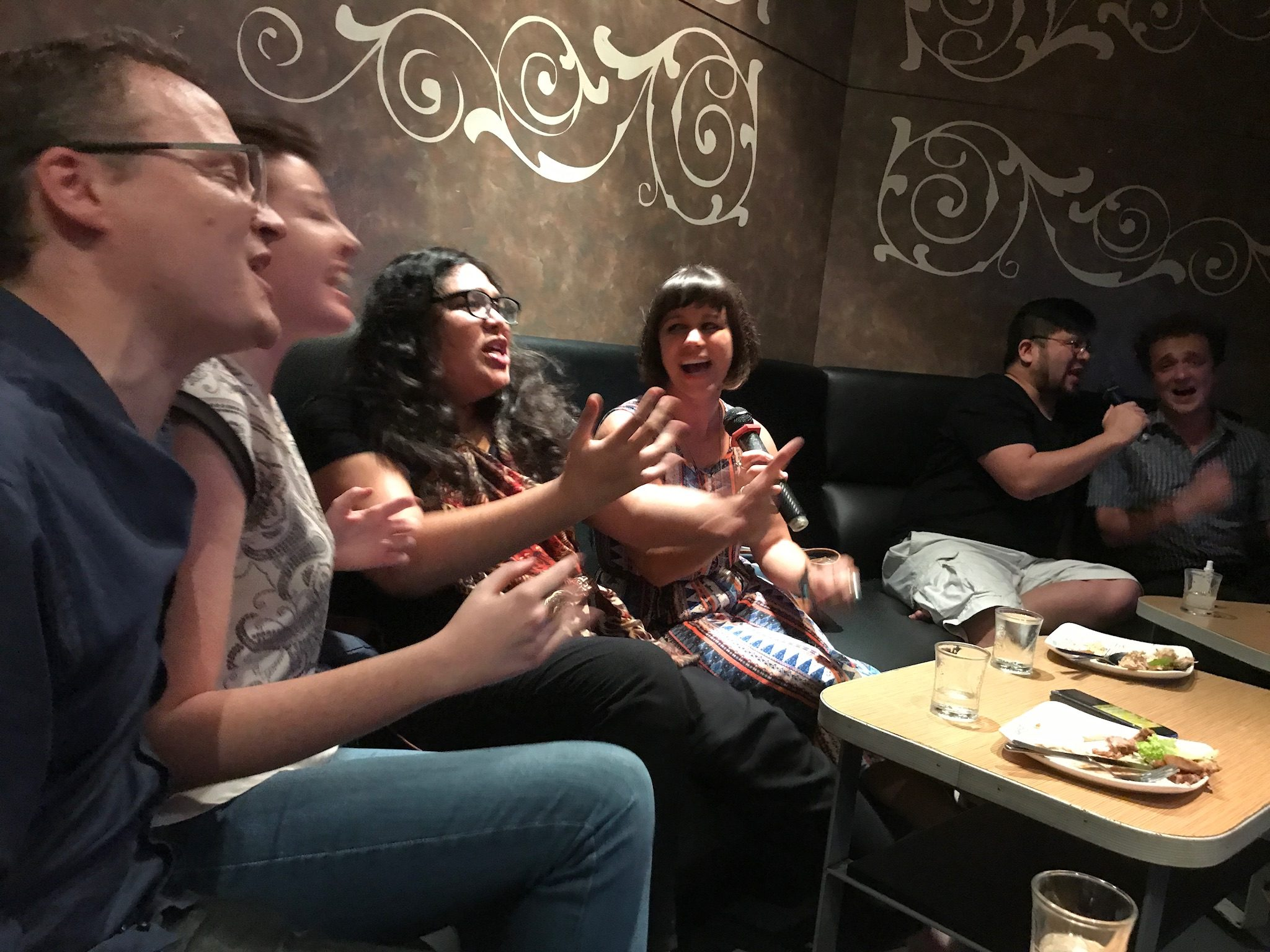 Gin, fags and karaoke … a typical night out in KL