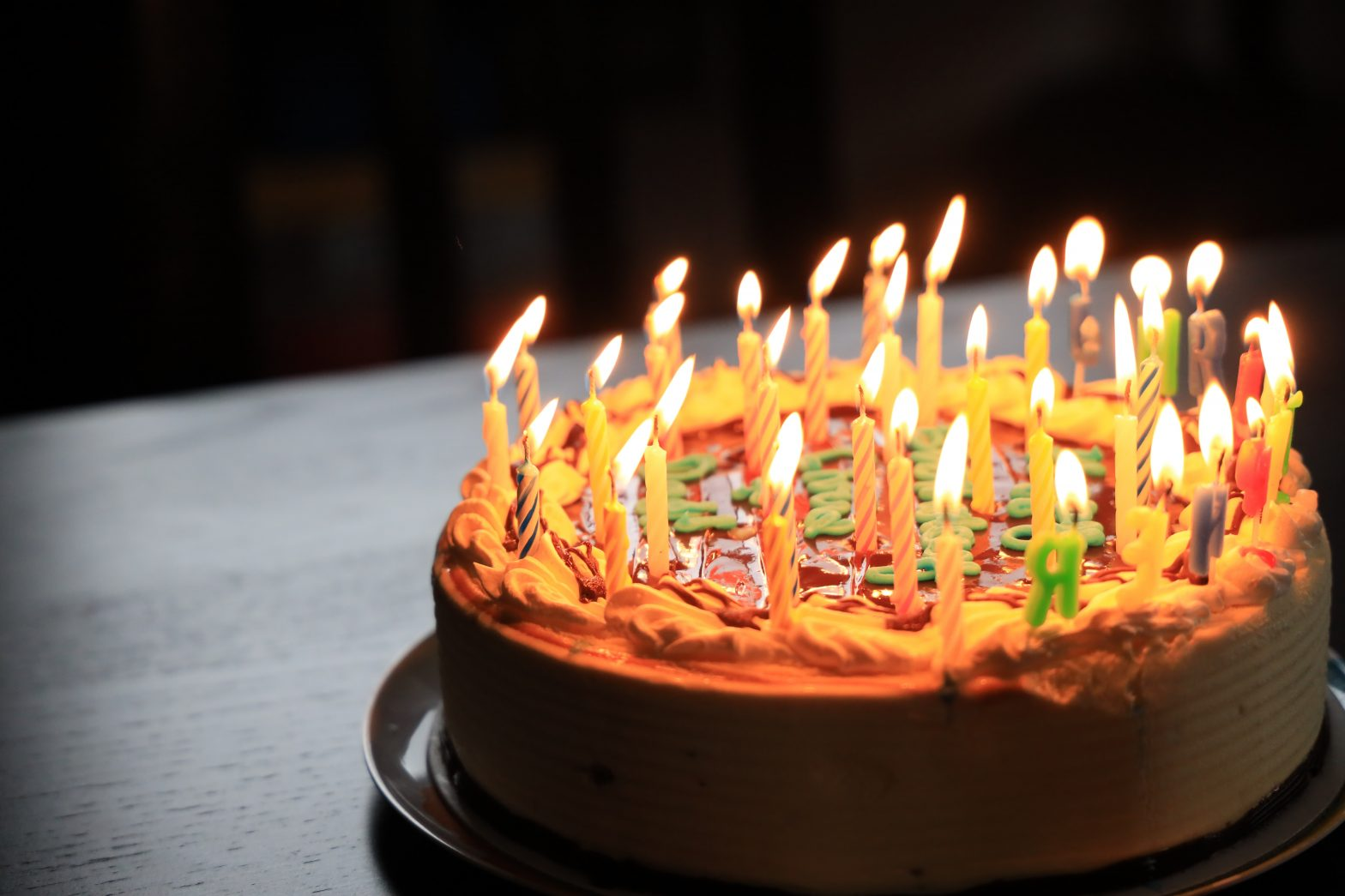 birthday cake richard burlton unsplash